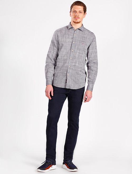 Camisa Manga Longa Regular Jeanswear Marinho