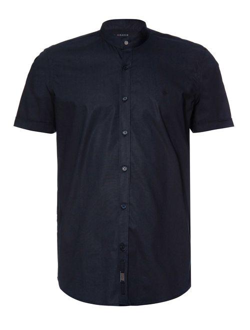 Camisa Night Sslim Gola Padre (Mo) Preto