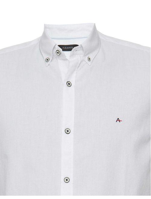 Camisa Manga Curta Jeanswear Button Down Branco