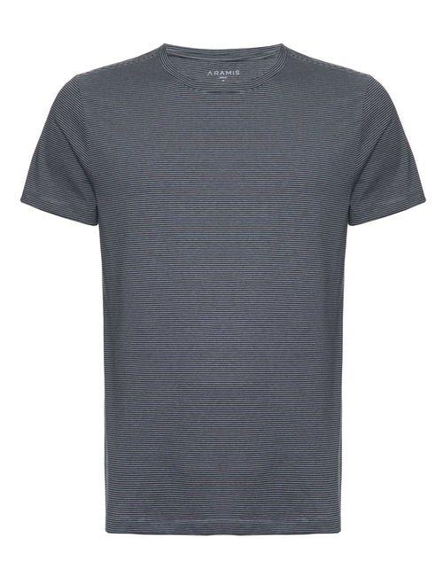 Camiseta Listrada Night (Pa) Chumbo
