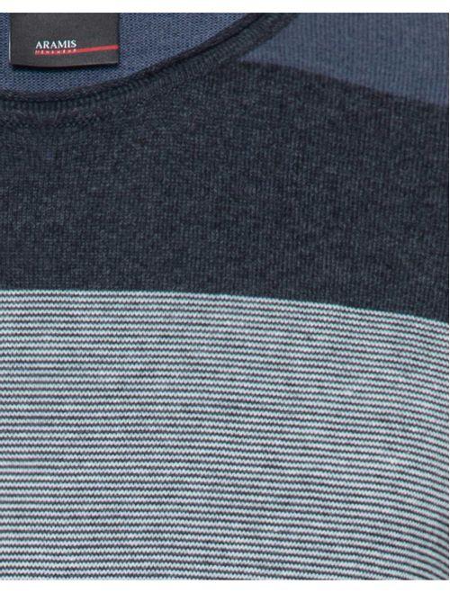 Camiseta De Tricot Manga Longa Color Azul