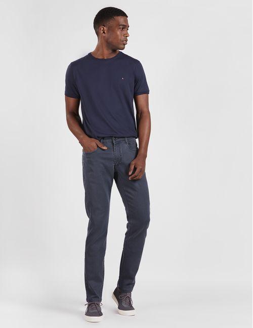 Calça Color Sustentável 5 Pockets Slim Marinho